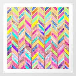 Colors Everywhere Art Print