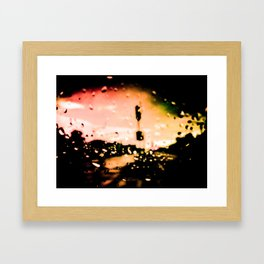 Last Bus To New York I | Two-Thousand Seventeen Framed Art Print
