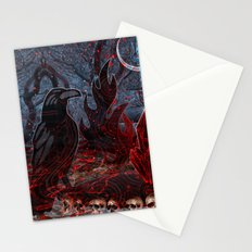 Twilight Garden  Stationery Cards
