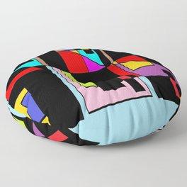 Muchos colores Floor Pillow