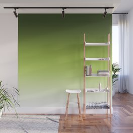 Olive ,green , Ombre Wall Mural