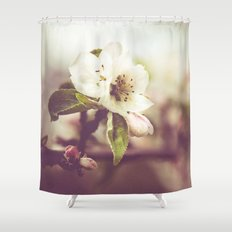 Lonely blossom Shower Curtain