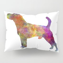 Jack Russell Terrier 01 in watercolor -3 Pillow Sham