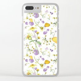 Small Wonders Clear iPhone Case