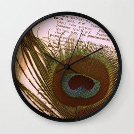 Paon Wall Clock