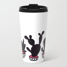 cactus row Metal Travel Mug
