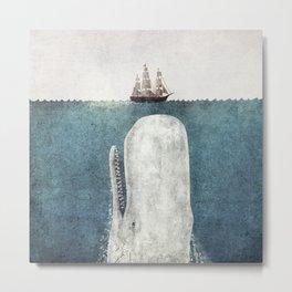 The Whale - vintage  Metal Print