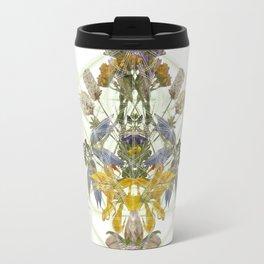 Montana Flowers & Sacred Geometry Travel Mug
