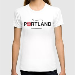 You Are Here -- Portland T-shirt
