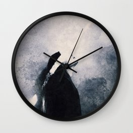 see the light Wall Clock