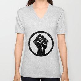 No Justice No Peace Unisex V-Neck