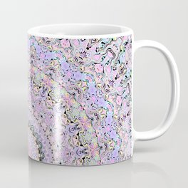 Marbled Pastel Mandala Coffee Mug