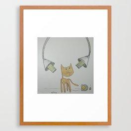 dc-14: 'clementine' Framed Art Print