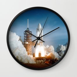 First Space Shuttle Launch Wall Clock