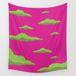 Cloudscape - Purple Wall Tapestry