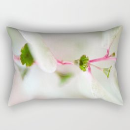 Tiny Trumpet Flower Rectangular Pillow