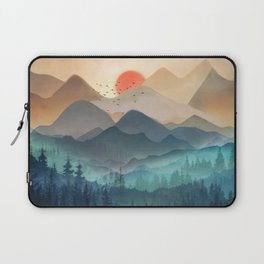 Wilderness Becomes Alive at Night Laptop Sleeve