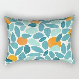 Tropical Mango Tree Rectangular Pillow