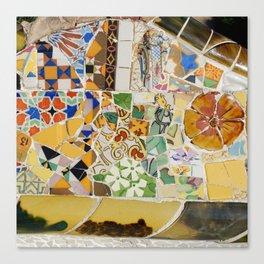 Parc Güell Canvas Print