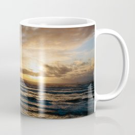 The Pacific Ocean at Sunset // Fort Stevens State Park, Oregon Coffee Mug