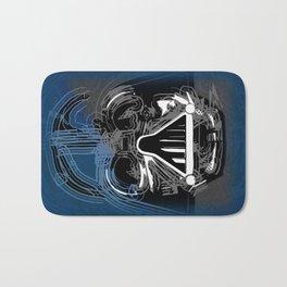 Darth Vader the Grey Bath Mat