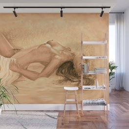 nude dreams of passion Wall Mural