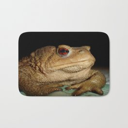 Common European Toad, Bufo Bufo Bath Mat