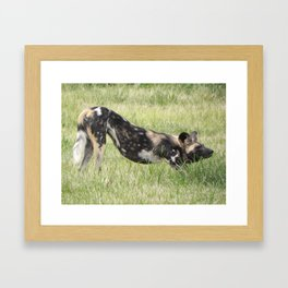 """""""African Yoga"""" by ICA PAVON Framed Art Print"""