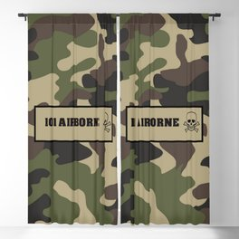 Military Camouflage 101 airborne Blackout Curtain
