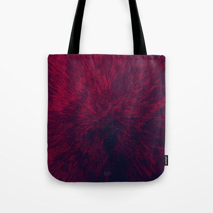 Bold Burst in Red Tote Bag