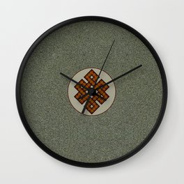 The Endless Knot II Wall Clock