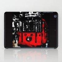 subway iPad Cases featuring subway by gizem sevinç