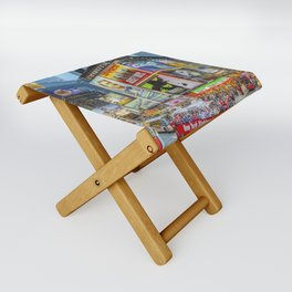 Times Square III Special Edition I Folding Stool