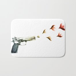My Love Gun in Color Bath Mat