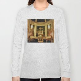 Yellow Church Long Sleeve T-shirt