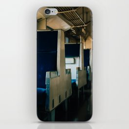 Empty Train iPhone Skin