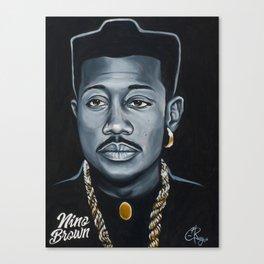 Nino Brown Canvas Print