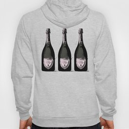 Champagne Pink party Graphic illustration Hoody