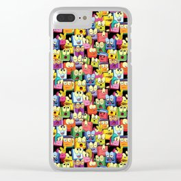 Crazy Boxes Clear iPhone Case