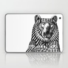 Ornate Grizzly Bear Laptop & iPad Skin