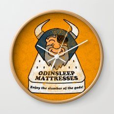 Odin - Odinsleep Mattresses Wall Clock