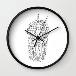 Artsy Cup Wall Clock