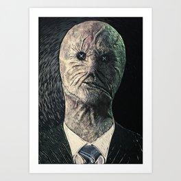 Dr. Decker Art Print