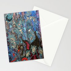 Obsidian night Stationery Cards