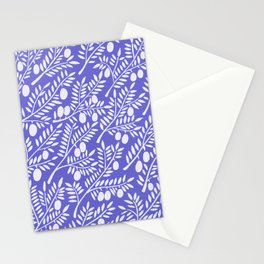 Olive Branches – Periwinkle Stationery Cards