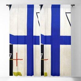 Sophie Taeuber Arp Broken Cross Blackout Curtain