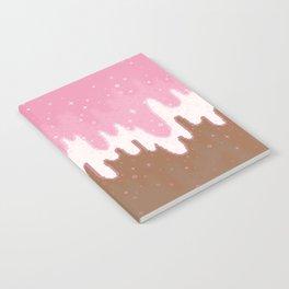 Summer Sweets:  Neapolitan Galaxy Notebook