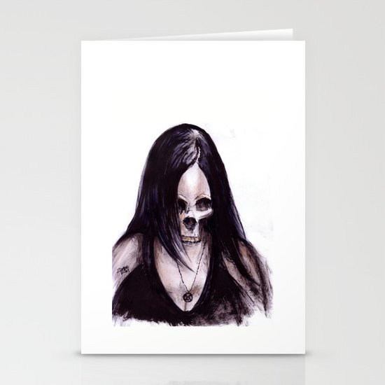 Dead-She Stationery Cards