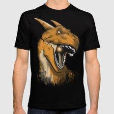 Charisaurus Rex MEDIUM Mens Fitted Tee Black