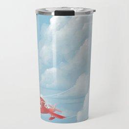 Porco Rosso flying Travel Mug